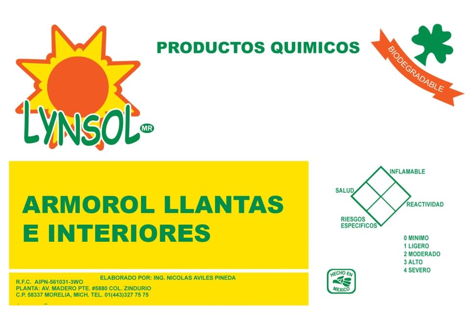 ARMOROL LLANTAS E INTERIORES