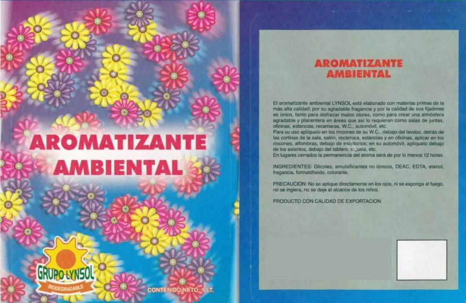 AROMATIZANTE AMBIENTAL 2