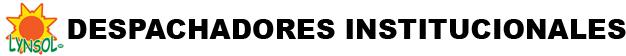 DESPACHADORES INSTITUCIONALES