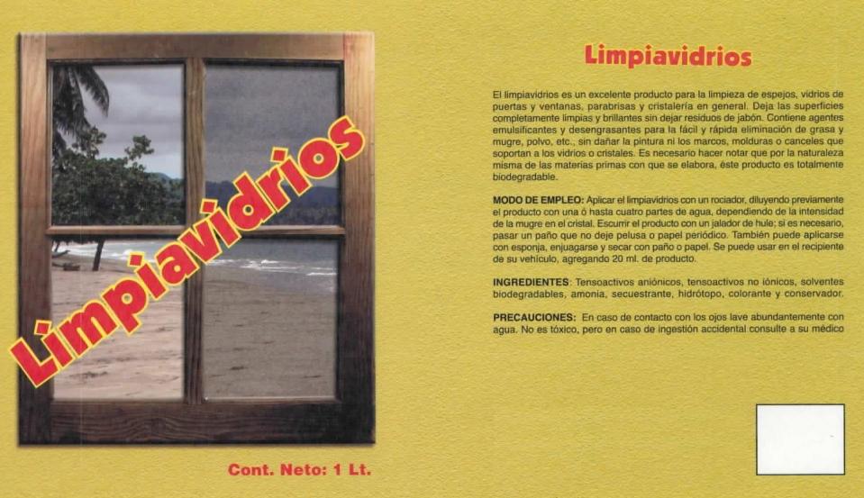 LIMPIAVIDRIOS