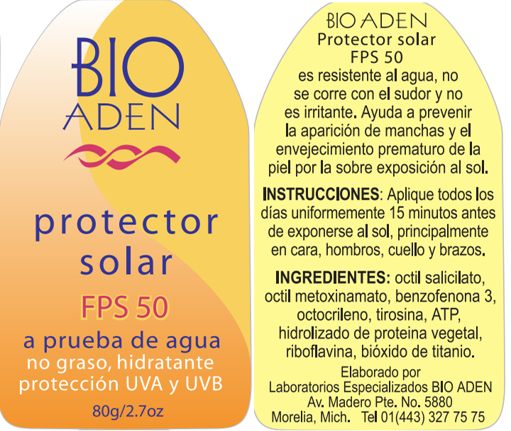 PROTECTOR SOLAR FPS 50