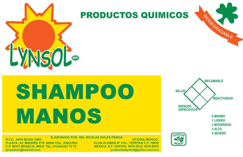 SHAMPOO MANOS